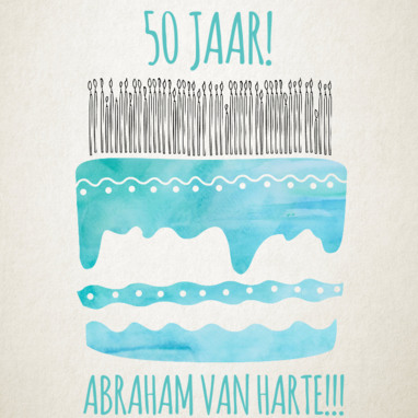 50 jaar Abraham wensen